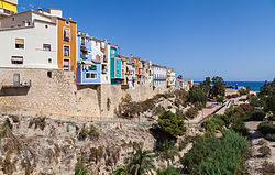 Villajoyosa or La Vila Joiosa Province of Alicante, Valencian Community, Spain