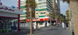 Benidorm Burger King | Well-known fast-food chain serving grilled burgers, fries & shakes, plus breakfast.