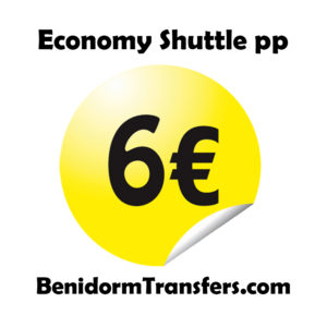 Benidorm Transfers – Cheap Transfers  from 6 Euros per person to/from Alicante Airport